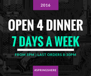 open dins 7 days